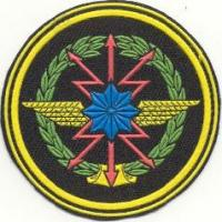 Color Patch of Communication Troops Armed Forces of the Republic of Uzbekistan