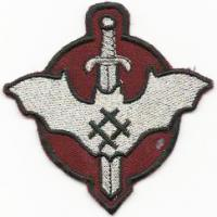 Patch of Latvian company of Baltic peacekeeping battalion BALTBAT