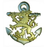 Naval Metal Badge of Finnish Defence Forces