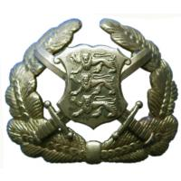 Officer Hat / Cap Badge of Armed Forces Estonia