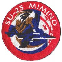 "Georgian Air Force. Pilots Su-25 Patch ""MIMINO"" (Hawk)"