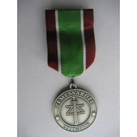 "National Guard Commander's Award - memorial medal ""15 years of National Guard"" /Latvian National Armed Forces/"