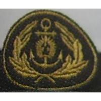 Naval forces officer embroidered cockade, 2 variant /Latvian National Armed Forces/