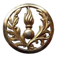 French Army Administrative Service Beret Badge