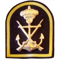 Marine Corps Beret Metal Badge. Spain