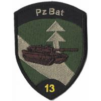 13th Armored Battalion Patch of the Armed Forces of Switzerland