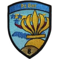 8th Armored Battalion Patch of the Armed Forces of Switzerland