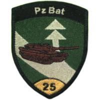 25th Armored Battalion Patch of the Armed Forces of Switzerland